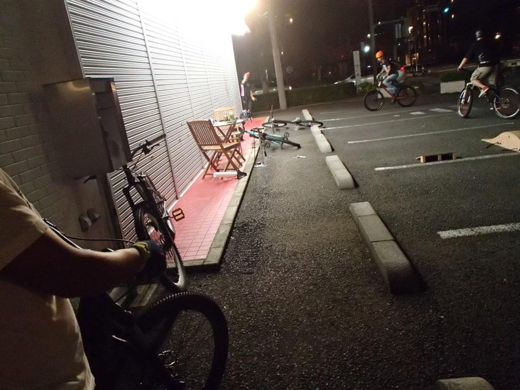 MTB講習会を雨の合間に…、週末・平日サイクリングはお休みでした。