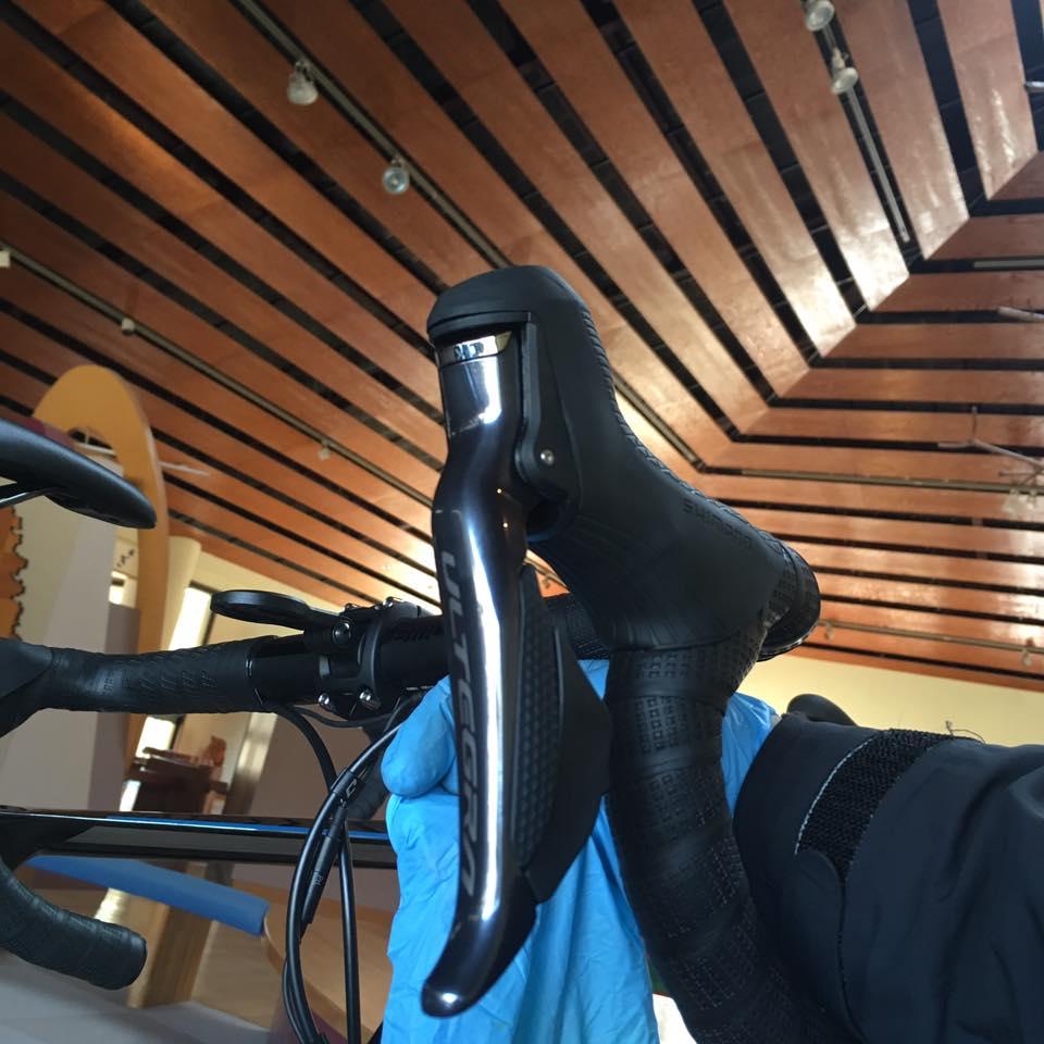 インプレッションバイクのメカニックをしてきました & ST-R8070 新型アルテグラ Di2 ディスクブレーキ 対応モデル