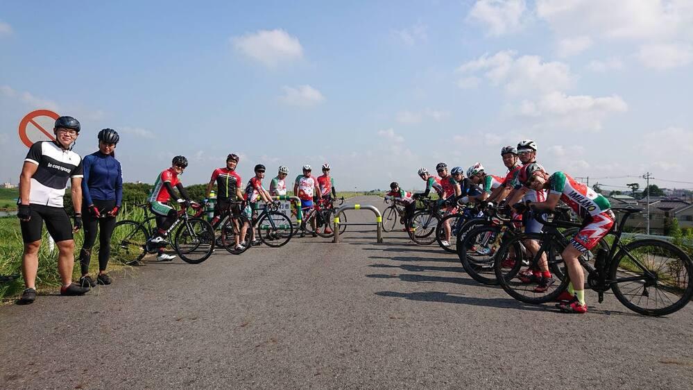 8/4&8/12チームミラノの朝ラン50km参加してきました!