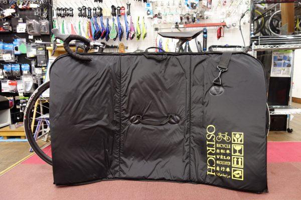 オーストリッチ輪行バッグOS-500トラベルバッグのレンタルもやってますよ!