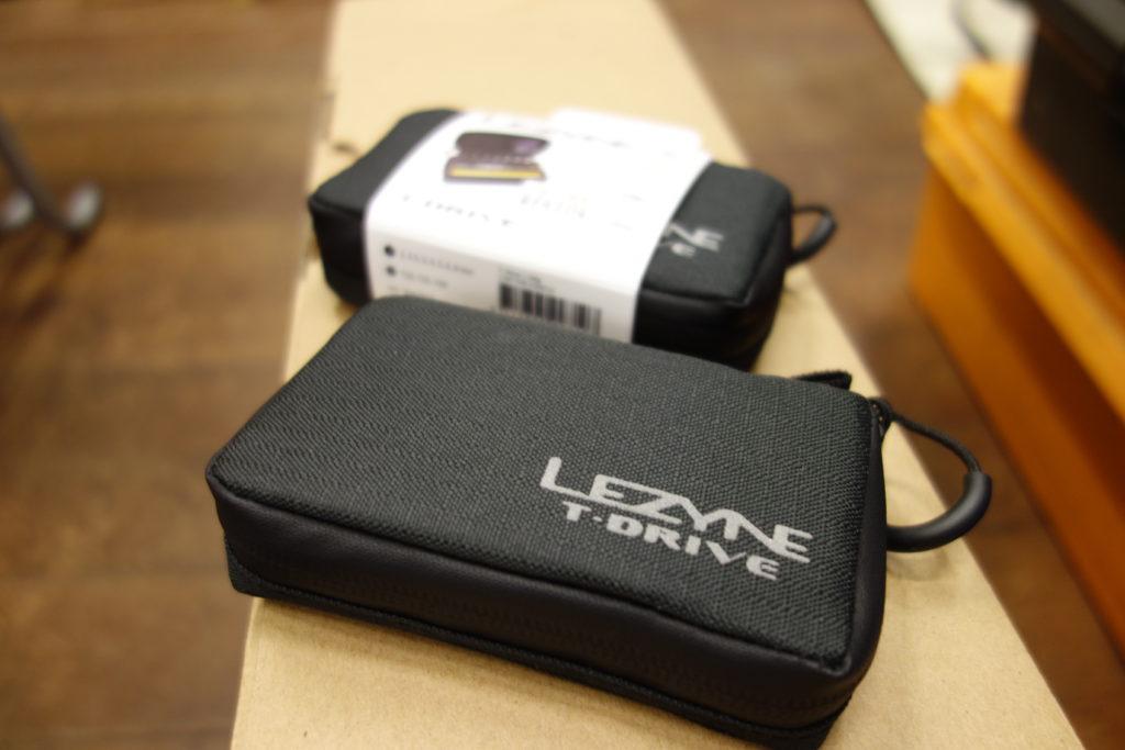 日常の整備にも使える携帯ツール LEZYNE T-DRIVE