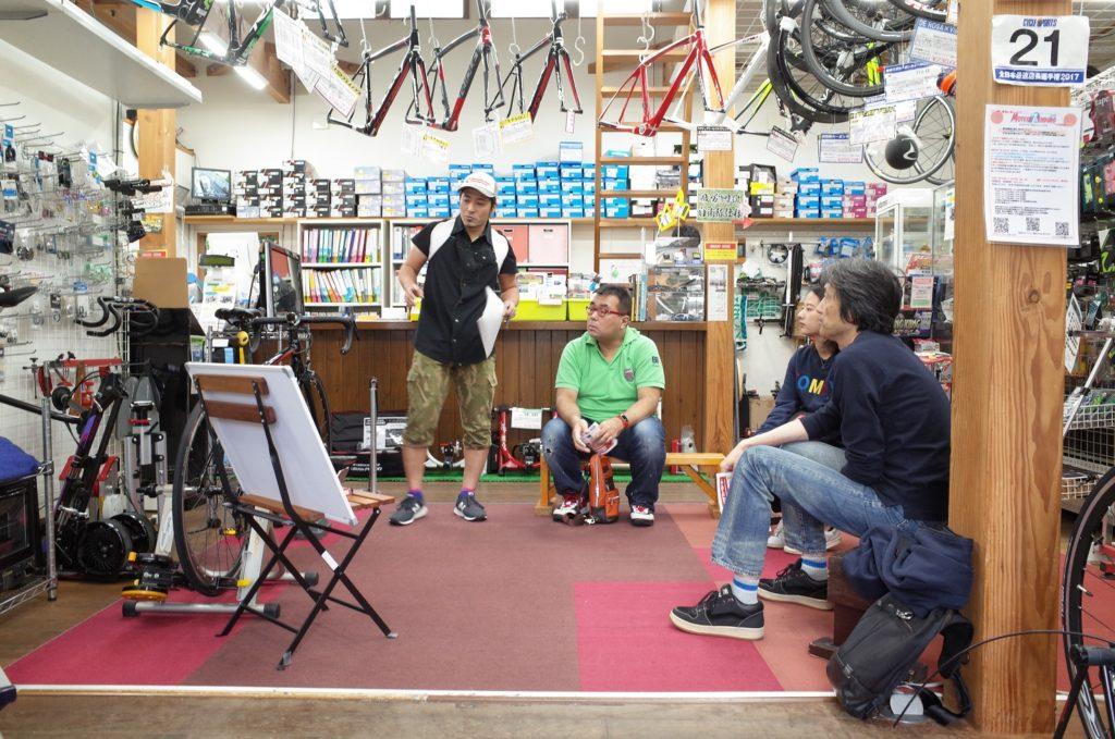 第二回「ロードバイクが気になったら来てみよう」講習会、10月15日に開催しました!!!
