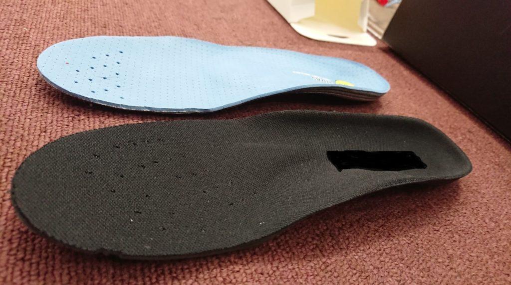 靴底から支えるインソール。SIDAS Bike+