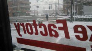 1月27日、28日のモーニングライド中止のお知らせ