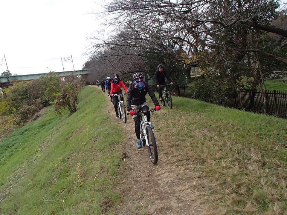 MTBモーニングライド:12月16日(日)MTBモーニングライドでのんびりサイクリングしましょう。