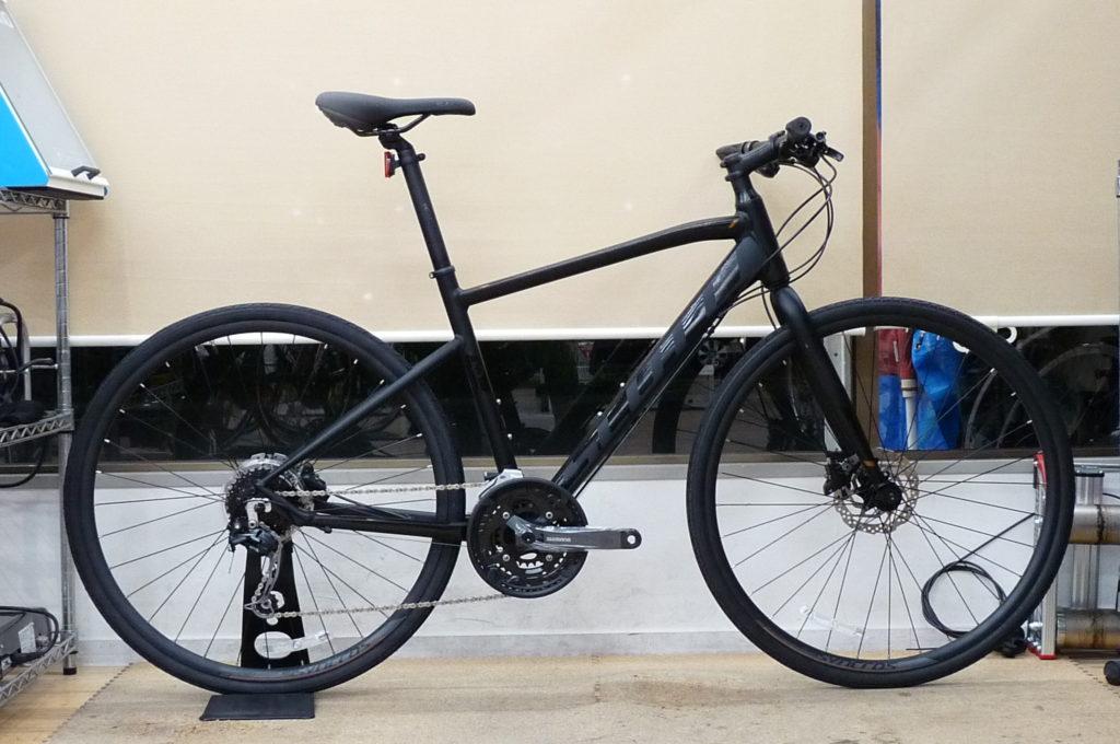 タイヤだけで大変身!振り幅の大きなクロスバイクで通勤もツーリングも!