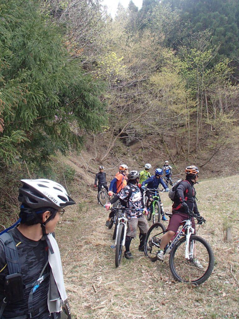 週末朝のMTBモーニングライド、平日サイクリング、週末夜の講習会やってます