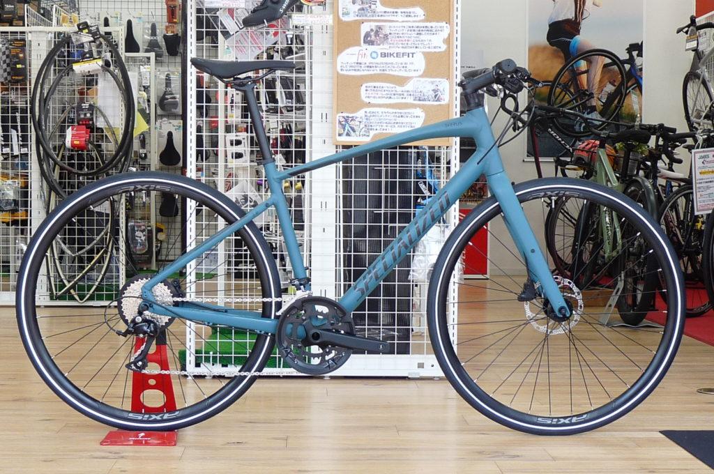 スペシャライズドのクロスバイク新型SIRRUS3.0