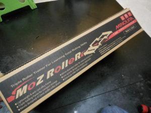 梅雨の時期は屋内でトレーニング Moz Roller(三本ローラー)再入荷です!