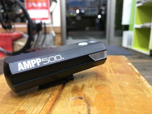 キャットアイの広角ライトAMMP500入荷です。